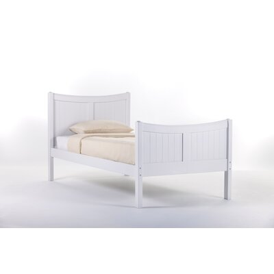 Javin HB/FB/Slat in White Size: Twin