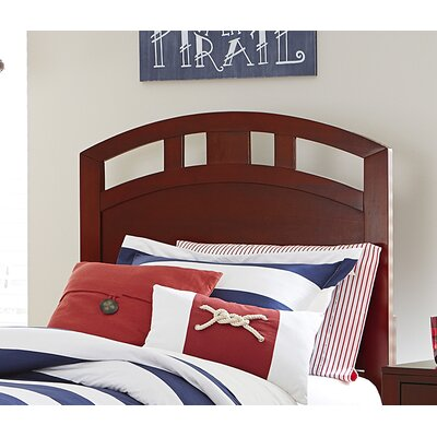 Pulse Arch Panel Headboard Size: Full, Color: Cherry
