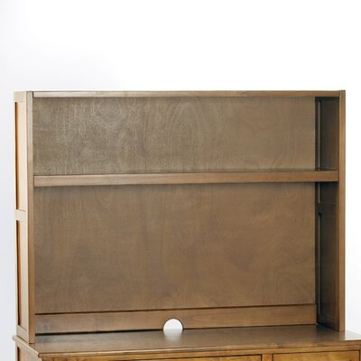 Javin Desk Hutch in Pecan
