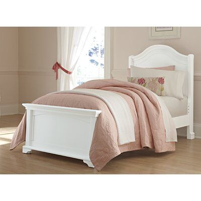 Javin Kids Arch Bed Size: Twin, Color: White