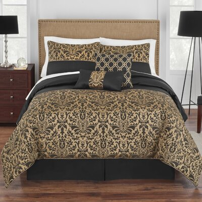 Grand Genevieve Comforter Set Size: Queen