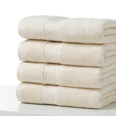 Bath Towel Color: Ecru