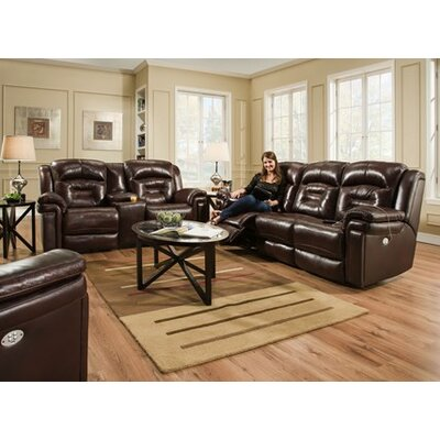 Avatar Double Reclining Sofa with Console