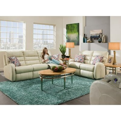 Wonder Leather Configurable Living Room Set