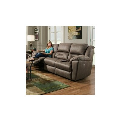 751-28-276-14 BOUT1144 Southern Motion Siri Double Reclining Console and Sofa
