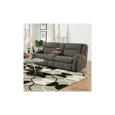 Maverick Double Console and Reclining Sofa