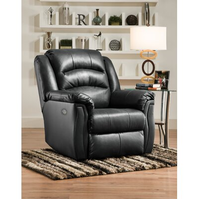 Max Rocker Recliner Reclining Type: Power - Remote - Headrest & Lumbar, Motion Type: Rocker