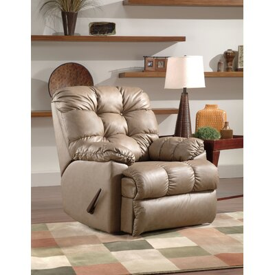 Charron Rocker Recliner Reclining Type: Manual, Motion Type: Wall Hugger