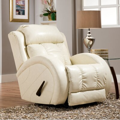 Kraatz Rocker Recliner Reclining Type: Manual, Motion Type: Swivel