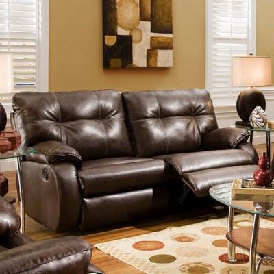 "698-30 804-21 SMN1132 Southern Motion Dodger"" Reclining Sofa"