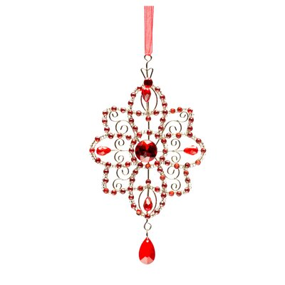 Crystal Star Holiday Ornament