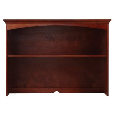 36.5 H x 51.5 W Desk Hutch Finish: Chestnut
