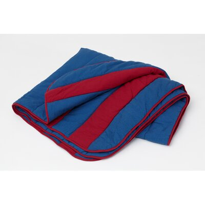 Max Matt / Comforter Size: Twin, Color: Blue / Red