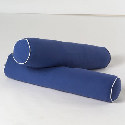 Bolster Cover Color: Blue / White