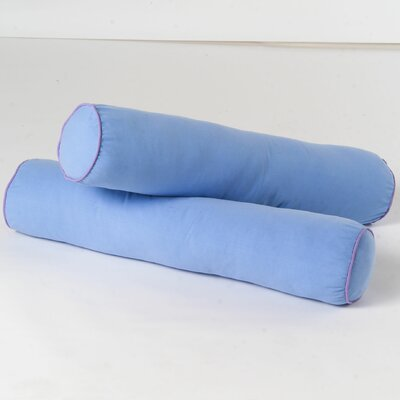 Bolster Cover Color: Light Blue / Purple