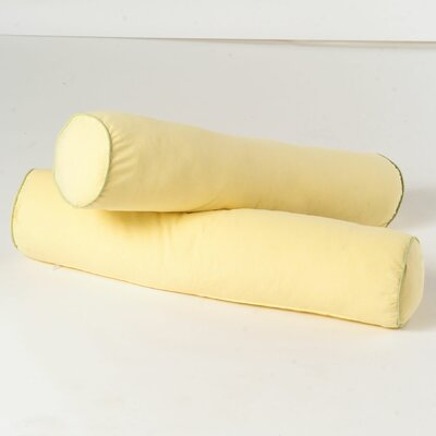 Bolster Cover Color: Soft Yellow / Green