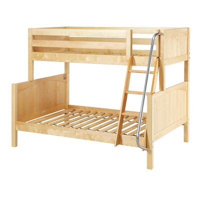 Slope Twin over Full Bunk Bed Color: Natural