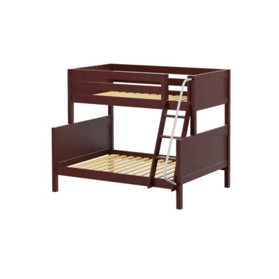 Slope Twin over Full Bunk Bed Color: Chestnut