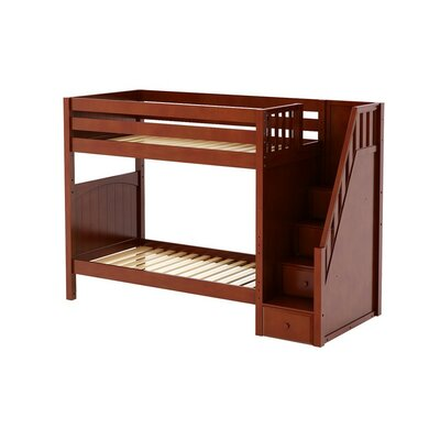 Wopper Twin Bunk Bed Finish: Chestnut