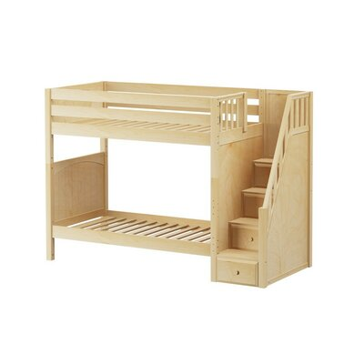 Wopper Twin Bunk Bed Finish: Natural