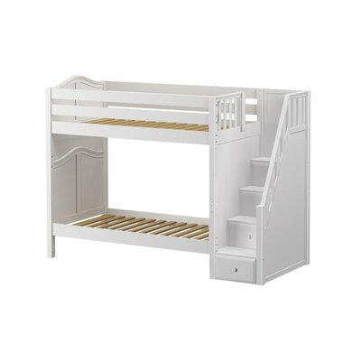 Wopper Twin Bunk Bed Finish: White
