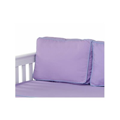 Pillow Cover Color: Purple / Light Blue
