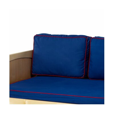 Pillow Cover Color: Blue / Red