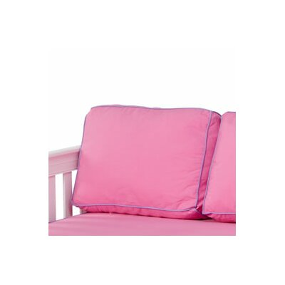 Pillow Cover Color: Hot Pink / Purple