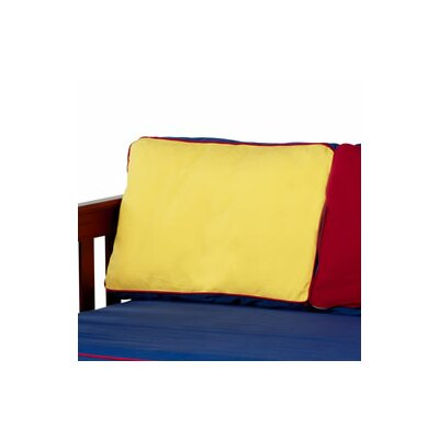 Pillow Cover Color: Blue / Red / Hot Yellow