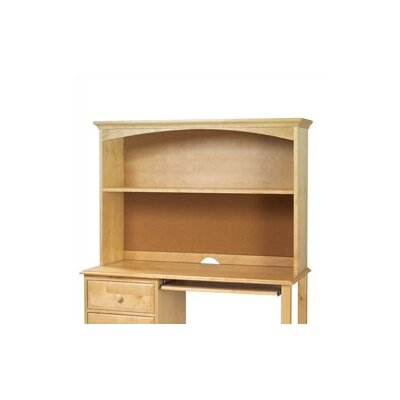 36.5 H x 51.5 W Desk Hutch Finish: Natural