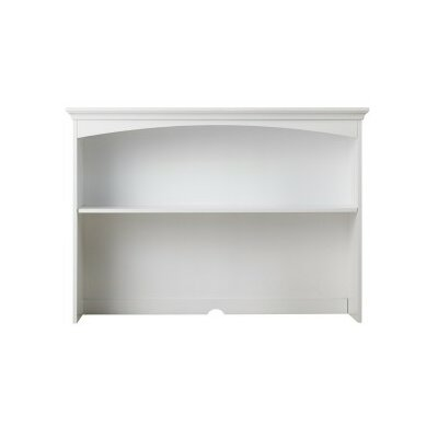 36.5 H x 51.5 W Desk Hutch Finish: White