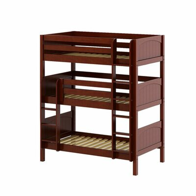 Holy Twin over Twin Triple Bed Bed Frame Color: Chestnut