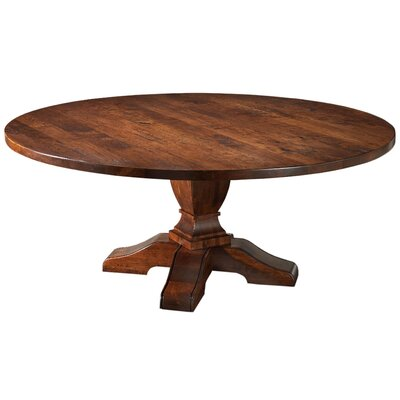 Sheffield Pedestal Dining Table Size: 30.25 H x 72 W x 72 D