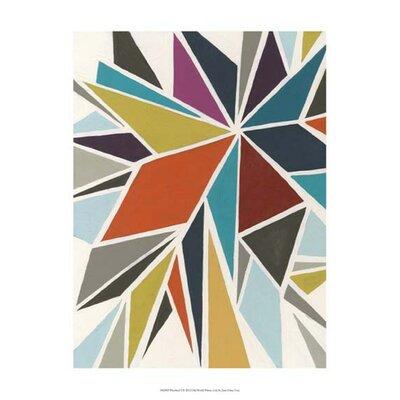 Pinwheel I by June Erica Vess Graphic Art