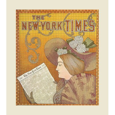 Vintage NY Times Ad by Julia Kearney Graphic Art