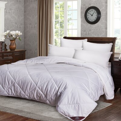 All Season 100% Australian Wool Comforter Size: Queen