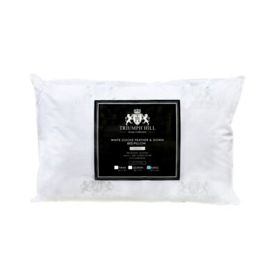 Triumph Hill Bed Feather and Down Pillow Size: King