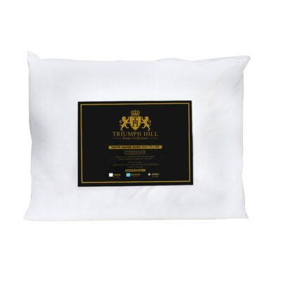 Triumph Hill Down and Feathers Pillow Size: Queen