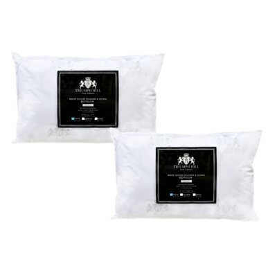 Triumph Hill Down and Feathers Pillow Size: Twin