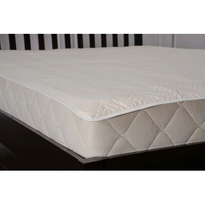 Washable Quilted Cotton Mattress Pad Size: California King