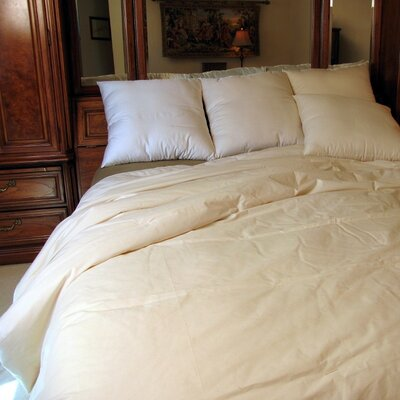 All Season Organic Wool Comforter Size: California King
