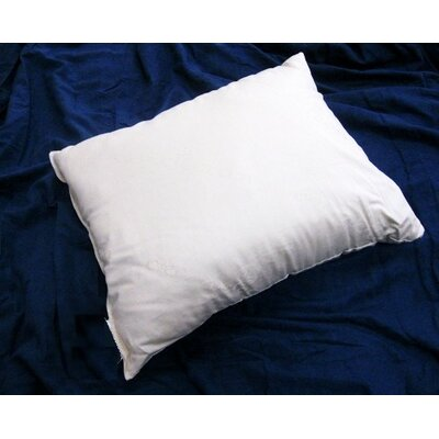 Organic Firm Cotton Pillow Size: Standard