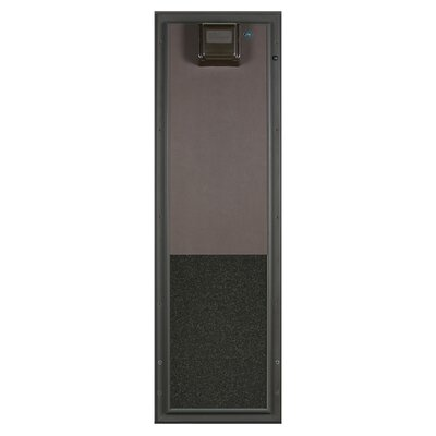 Performance Electronic Pet Door Wall Mount Color: Bronze