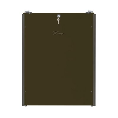 Sliding Track with Flip Lock Size: Extra Large, Color: Bronze