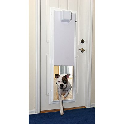 Performance Electronic Pet Door Wall Mount Color: White