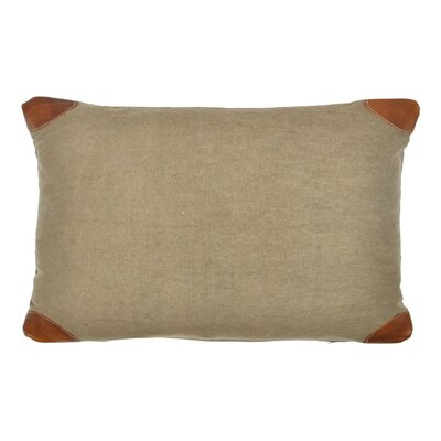 Lumbar Pillow Color: Green