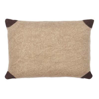 Lumbar Pillow Color: Brown