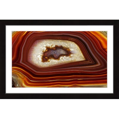 'Dragon Eye' Framed Painting Print Size: 12