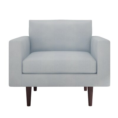 Brady Armchair Color: London Sky
