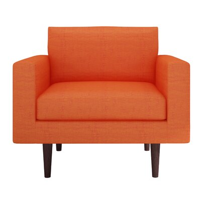 Brady Armchair Color: Dublin Orange